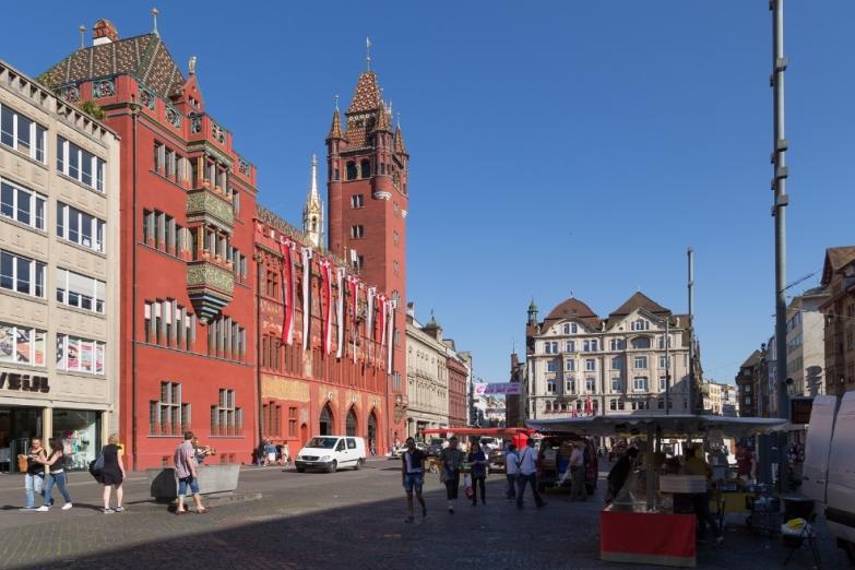 Рыночная площадь Базеля