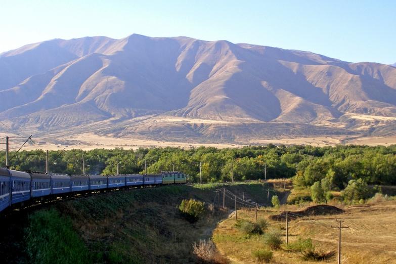 Поезд в Шымкент