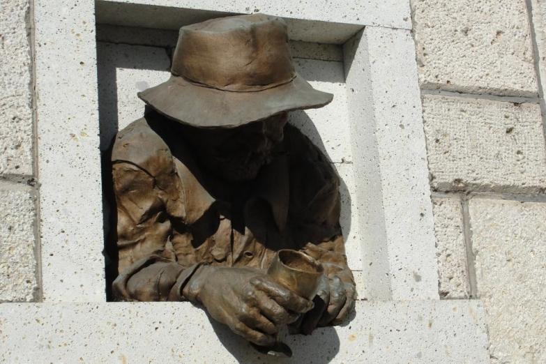 Городская скульптура Токая