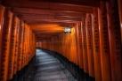 Врата в храм Фусими-Инари