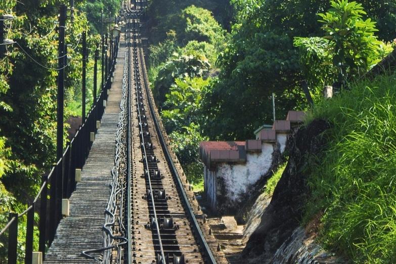 Дорога на Пенанг-Хилл