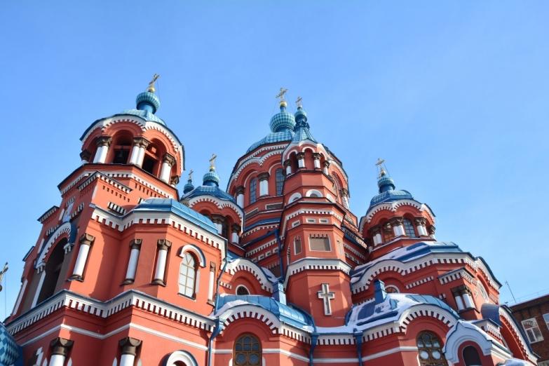 Казанская церковь в Иркутске