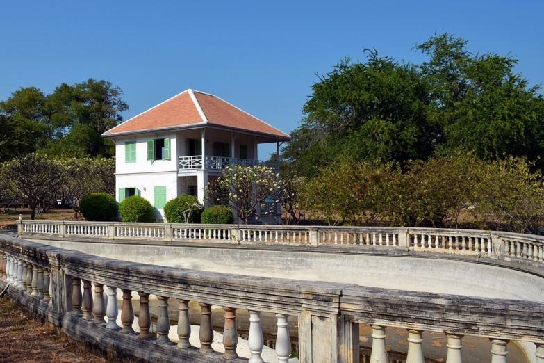 Особняк в летней резиденции короля Рамы V