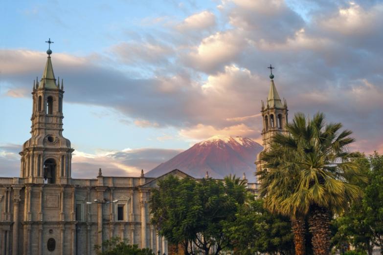 Арекипа - крупный город в Перу