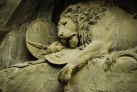 Умирающий лев – скульптура в скале Люцерна