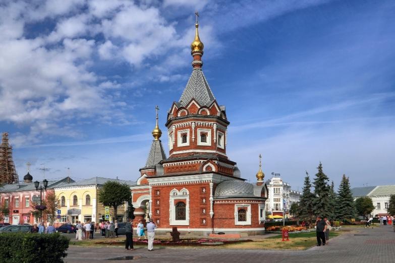 Часовня Александра Невского в Ярославле