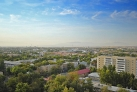 Панорама утреннего Шымкента