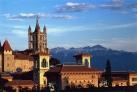 Башня Кафедрального собора Богоматери в Лозанне