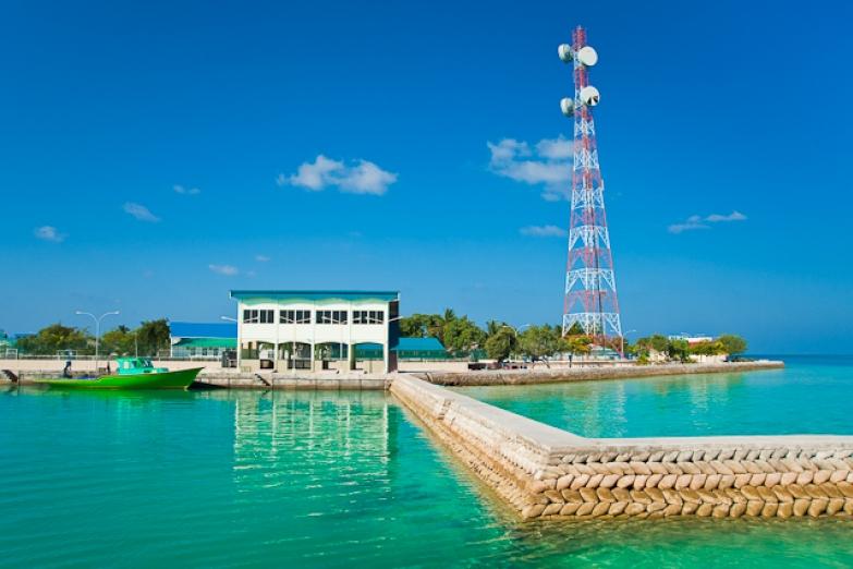 Жилой остров в Южном Мале