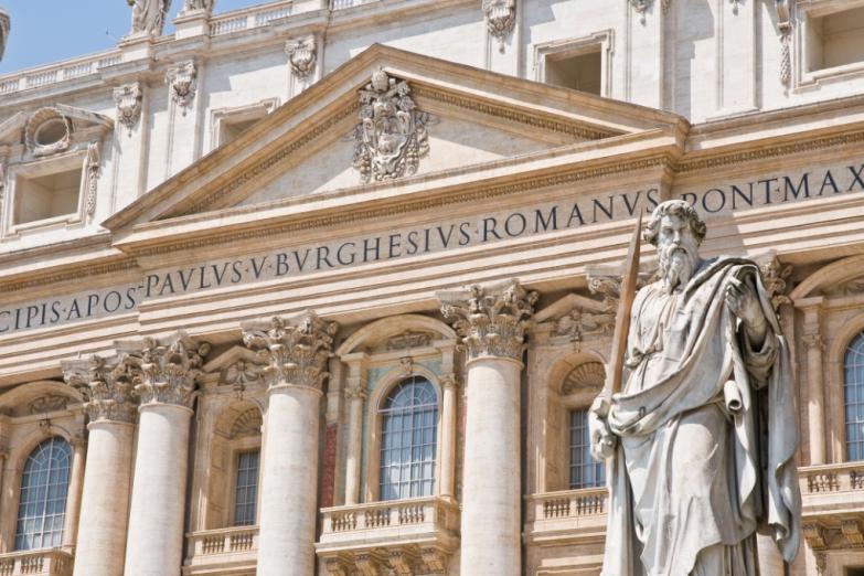 Деталь Собора Святого Петра