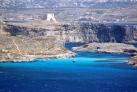 Голубая лагуна на острове Комино