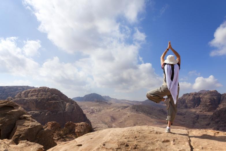 Йога в пустыне