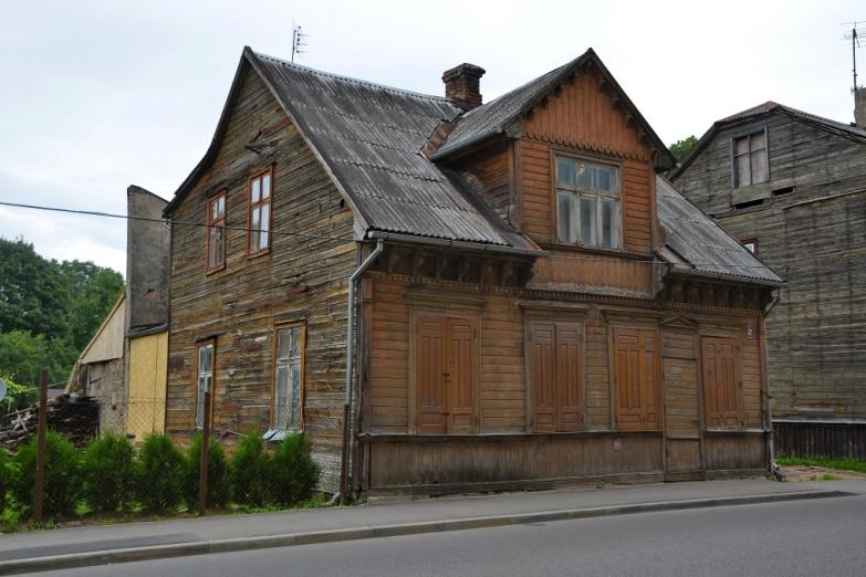 Деревянная архитектура Елгавы