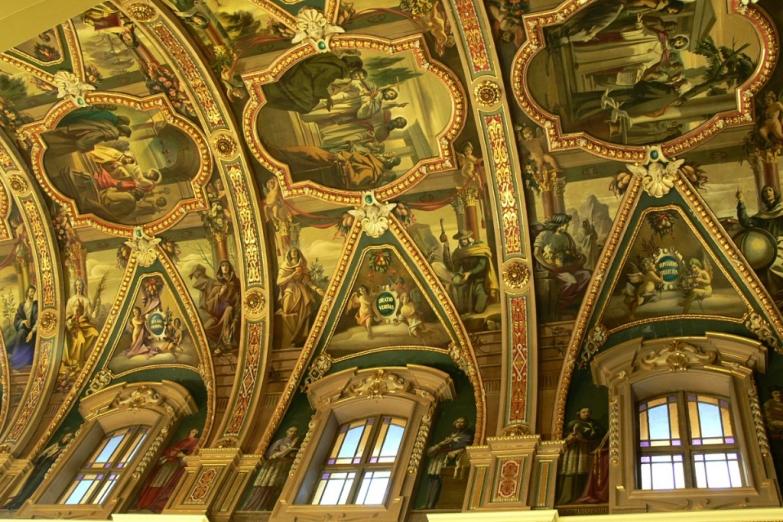 Роспись собора Св. Публия в Флориане