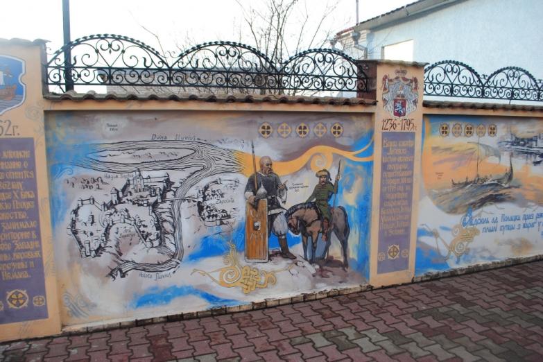 Граффити в Полоцке