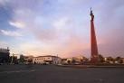 Площадь Ордабасы - Монумент Независимости