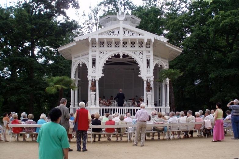Концерт Штрауса в городском парке