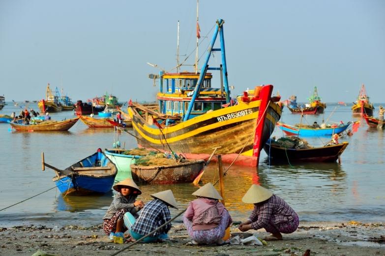 Рыбацкая деревня в Муйне