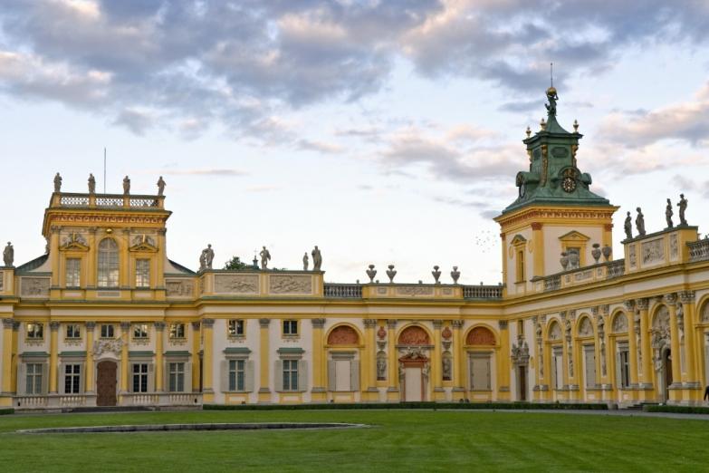 Дворец в Виланове