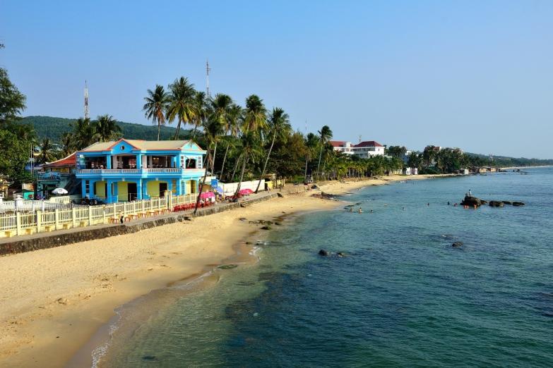 отели вдоль главного пляжа на острове - Лонг Бич