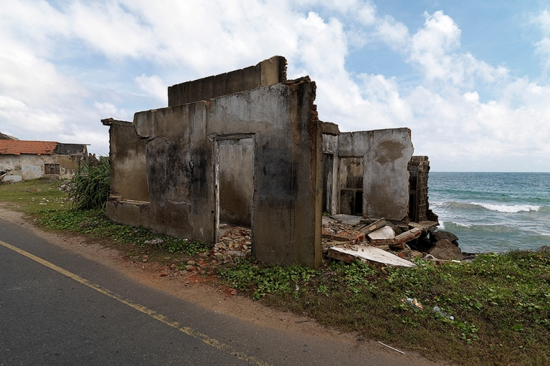 Зона после цунами