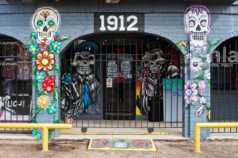Граффити на Мэйн-стрит