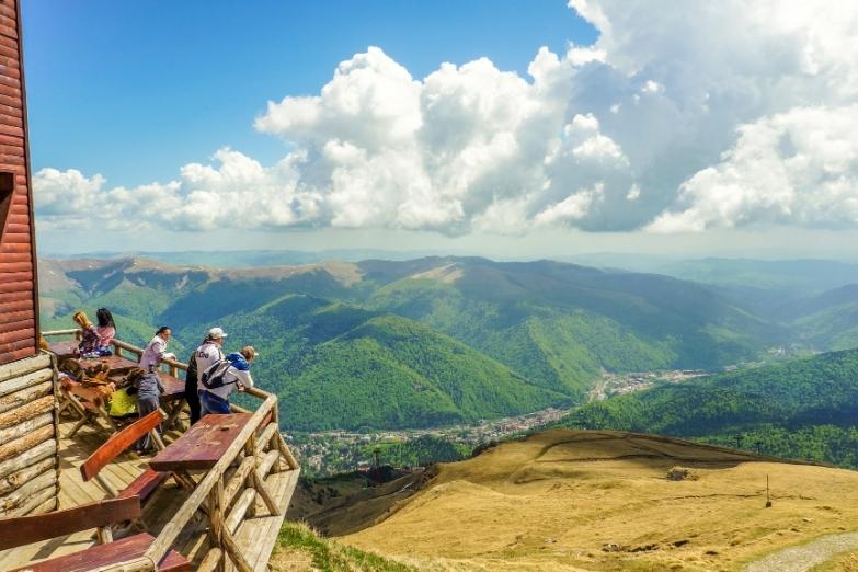 Вид с высоты 2000 метров