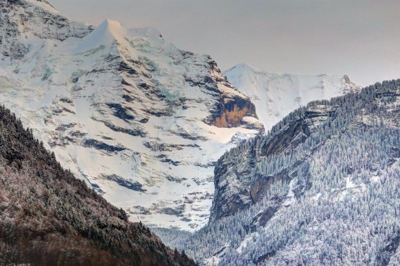 Вид на Вершину Европы Юнгрфрау
