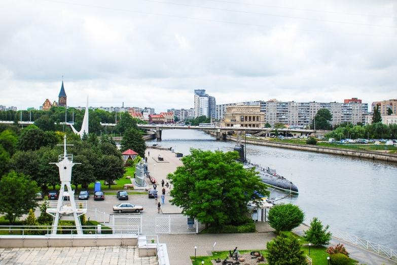 Современный центр Калининграда
