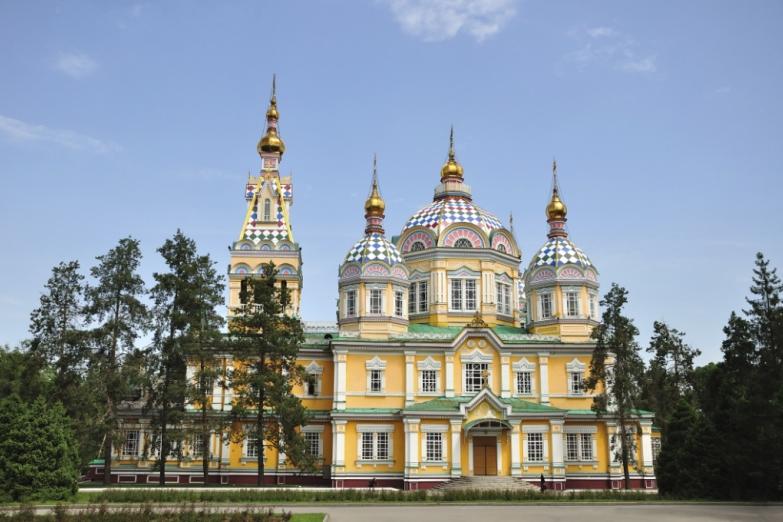 Кафедральный собор Вознесения Господня в Алма-Ате