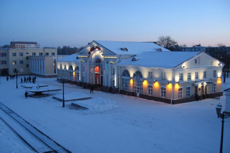 Вокзал Полоцка