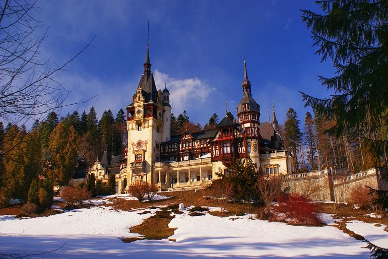 Замок Пелеш - королевская резиденция