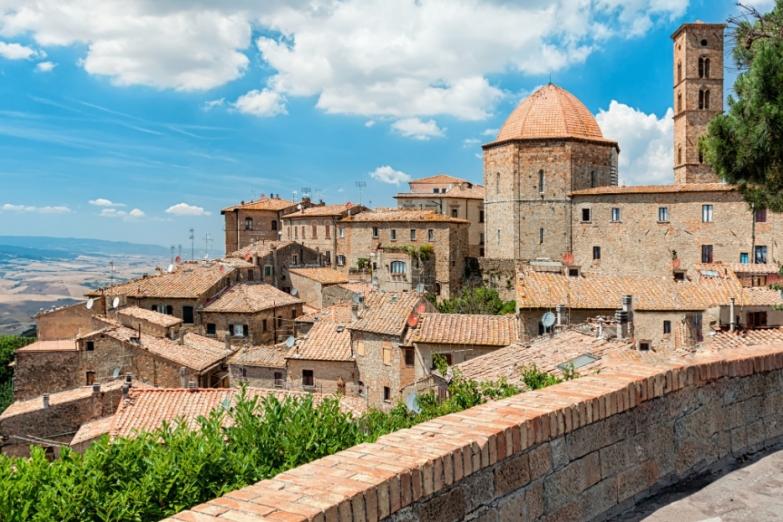 Старинный городок в Тоскане
