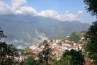 Вид на город Сапа