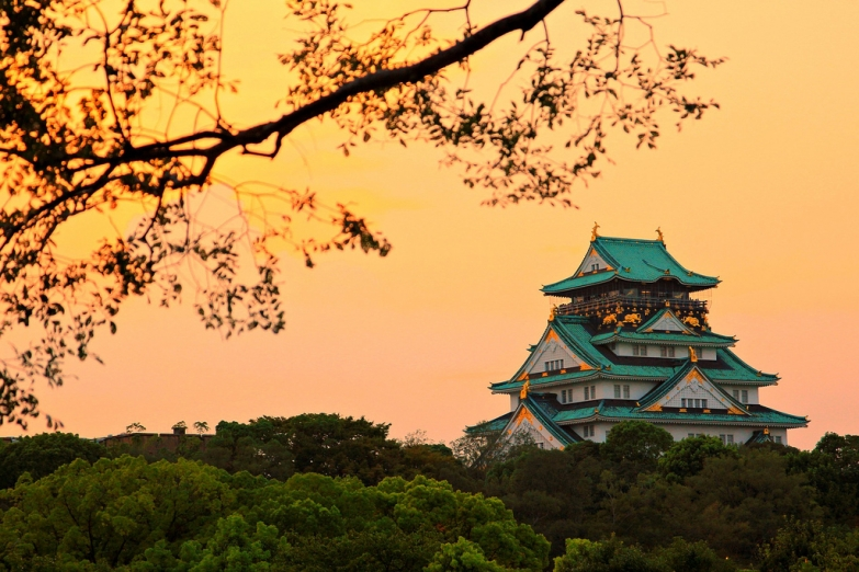 Закт и замок Исияма Хонган-дзи