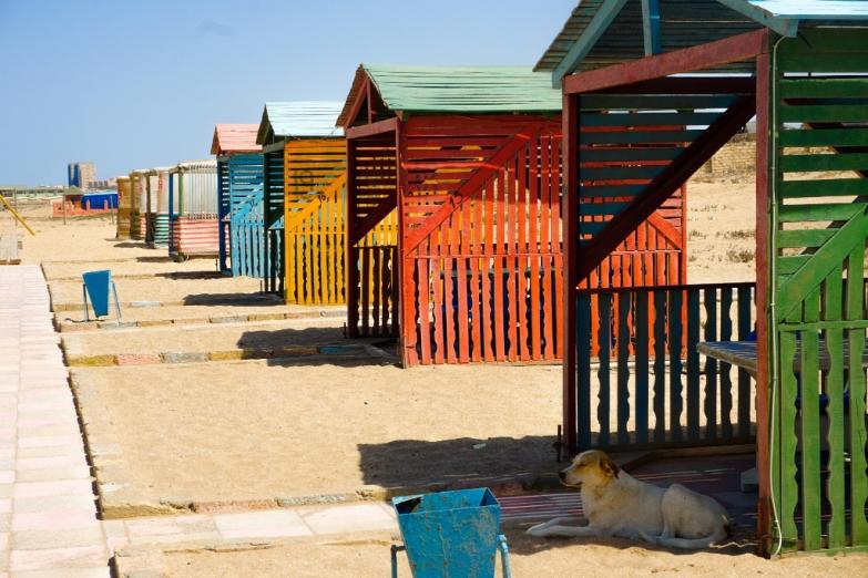 Пляж недалеко от Баку