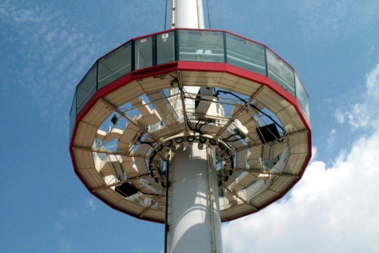 Обзорная площадка в башне Менара Таминг Сари