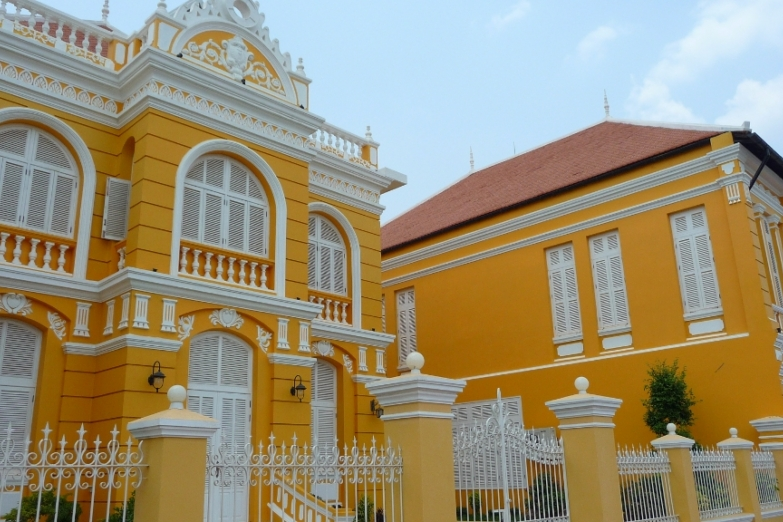 Колониальная архитектура Баттамбанга