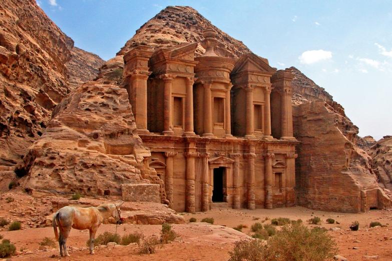 Монастырь Эль-Дейр - жемчужина Петры