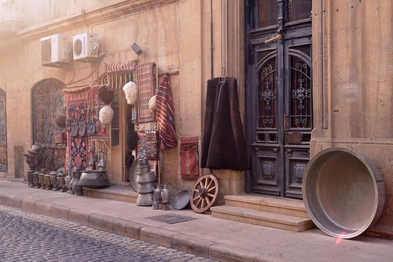 Лавка торговца старыми вещами