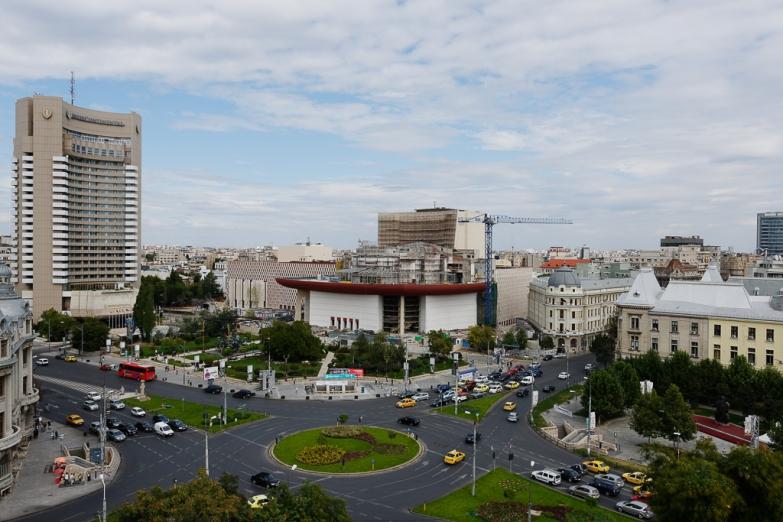 Панорама современного Бухареста