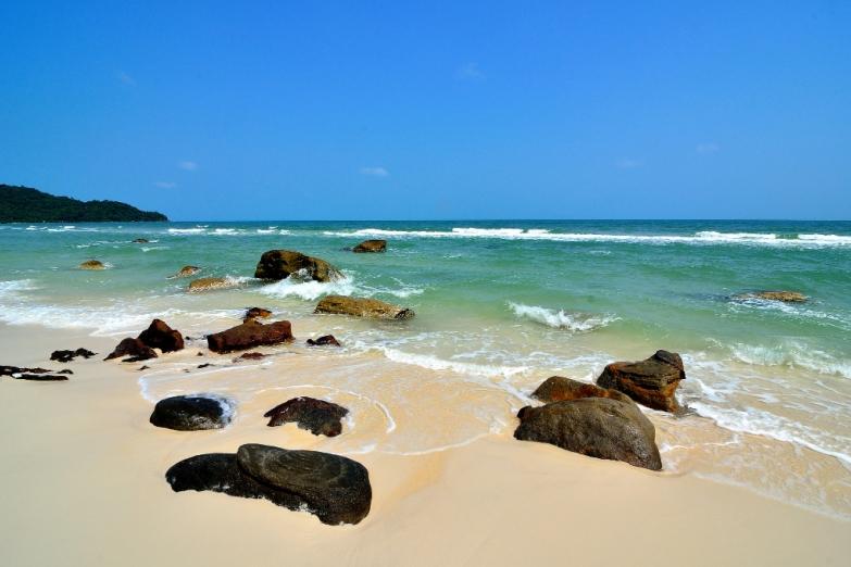 Белоснежный пляж Сао