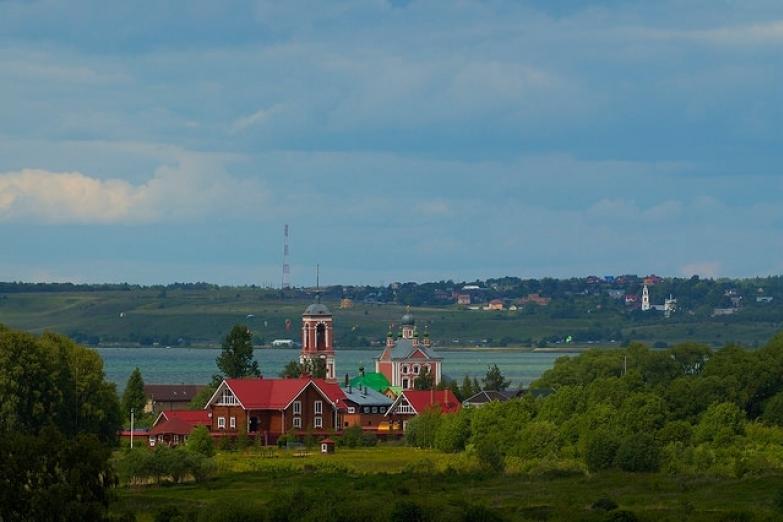 Рыбацкий поселок недалеко от Переславля-Залесского