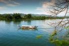 Лодка-дракон на реке Хуонг