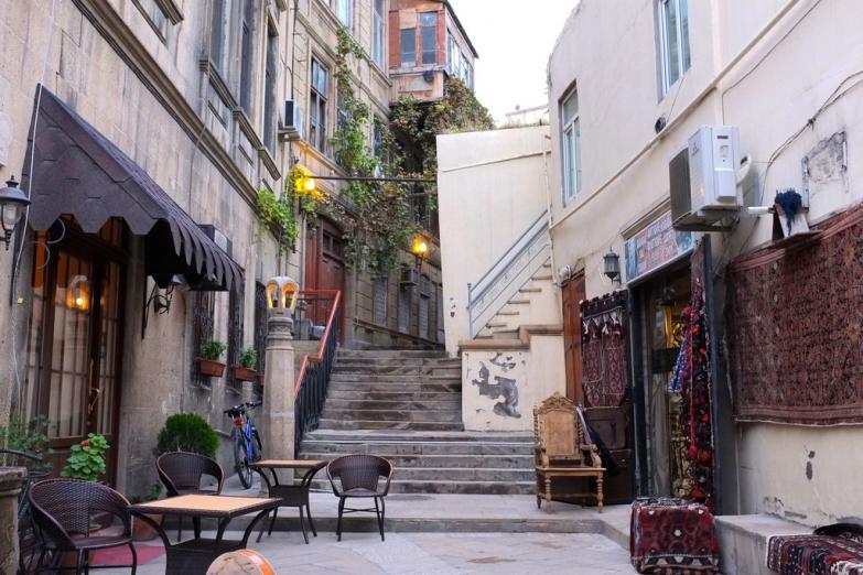 Городские улочки Баку