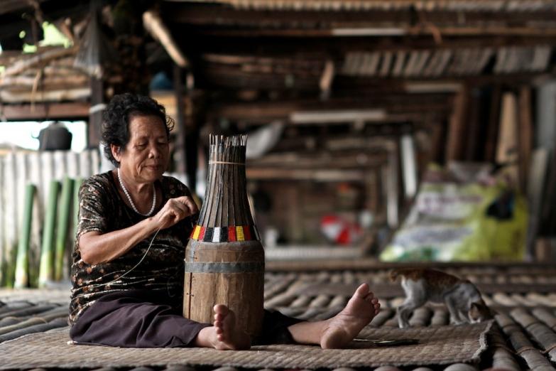 Традиционные ремесла в длинном доме