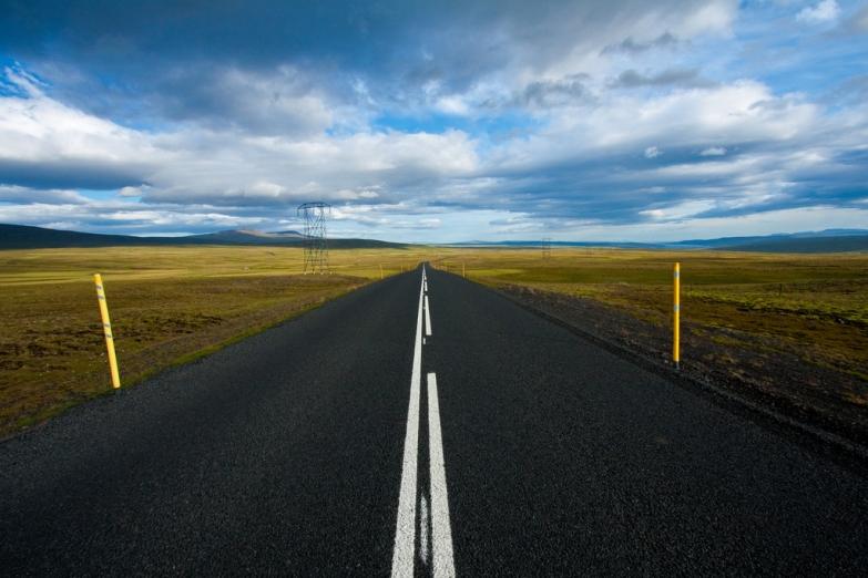 Дорога в Исландии