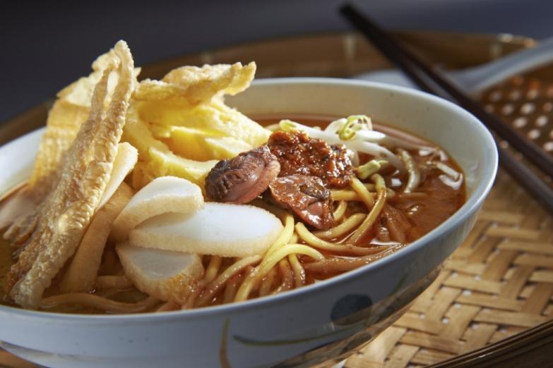 Пряная лапша - одно из популярных блюд кухни Малайзии