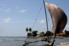 Традиционная рыбацкая лодка