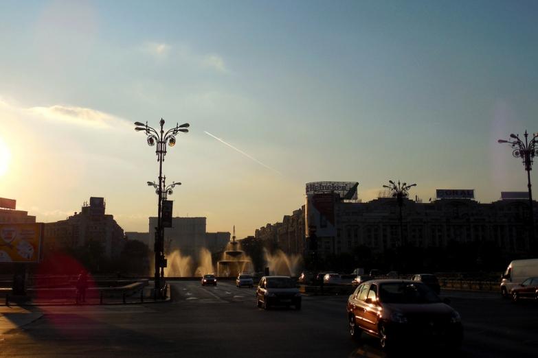 Утро в Бухаресте